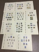 MOMEN: CYPRUS 1979-1983 MINT COLLECTION ON 11 HINGELESS PAGES LOT #6055