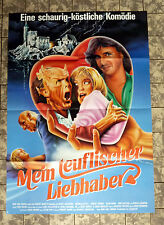 MEIN TEUFLISCHER LIEBHABER / My Demon Lover * A1-FILMPOSTER German 1-Sheet ´88