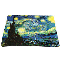 Starry Night Anti-Slip Waterproof Optical Mouse Mouse Pad Mouse Mat PC Mousepad