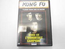 BRUCE LEE L'IMMORTALE CAMPIONE -KUNG FU -FILM IN DVD -visita COMPRO FUMETTI SHOP