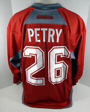 Montreal Canadiens  Jeff Petry #26 Game Used Red Practice Jersey