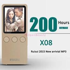 "1.8"" RUIZU MP4 Player Ultrathin 8GB Hifi Lossless 200 Hours with FM Clock G CB"