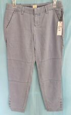 "Cropped Ankle Pants by ECRU - NWOT - Size 2 - 26"" Inseam - Light Blue"