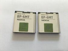 2PCS NEW OEM NOKIA BP-6MT BP6MT E51 N81 N82 6350 Mural 6750 1050mAh  Battery