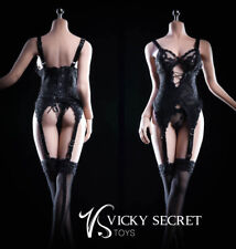 1/6 VSTOYS 18XG29A Sling Stockings Underwear  women Figure action  Clothes toys
