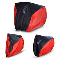 Waterproof Single/Double/Triple Bicycle Bike Cycle Cover Rain Dust Outdoor w/Bag