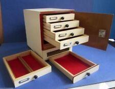 New Wooden Microscope prepared slide Storage Cabinet for 500 Slides