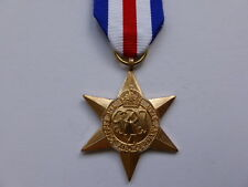 MEDALS - WW2 - FRANCE AND GERMANY STAR - FULL SIZE