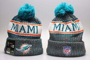 Miami Dolphins NFL New Era Knit Cap Hat Beanie