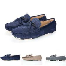 Mens Pumps Slip On Loafers Moccasins Outdoor Casual Flat Gommino Boat Shoes New