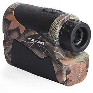 Wosports Hunting Range Finder, 700 Yards Archery Laser Rangefinder for Bow with