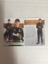 2011 Premium Racing #62 Suited Up Denny Hamlin Base Card