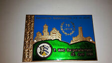 ALTE AUTO PLAKETTE Weinheimer AMC 1999 Car Plaque Badge ADAC