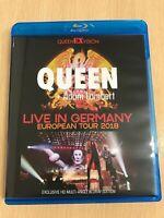 New QUEEN+ADAM LAMBERT / LIVE IN GERMANY : EUROPEAN TOUR 2018 Blu-ray Disk