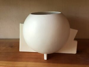 Mid Century Modern Architectural Pottery Vase Ceramic Arts and Crafts Planter