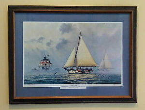 John Barber | Chesapeake Morning | Framed Limited Edition Signed COA