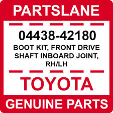 04438-42180 Toyota OEM Genuine BOOT KIT, FRONT DRIVE SHAFT INBOARD JOINT, RH/LH