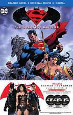 Batman v Superman Dawn of Justice Blu-ray + Digital+ Hardcover Graphic Novel NEW