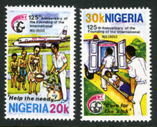 NIGERIA 1988 MNH SET RED CROSS STAMPS