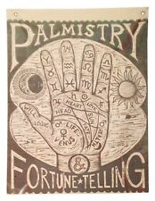 Fortune Teller Palmistry Wall Hanging Decoration Halloween Party Carnival