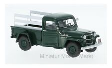 #45804 - NEO JEEP PICK UP-Metallic-Vert Foncé/Blanc - 1954 - 1:43