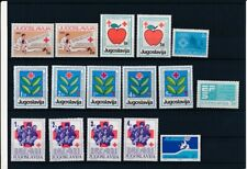 D097754 Yugoslavia Red Cross Nice selection of MNH stamps