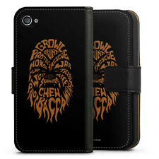 Apple iPhone 4 bolso funda flip case-Chewbacca typo