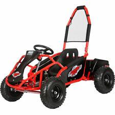 Mud Monster Kids Electric 48v 1000w Go Kart Full Suspension Red