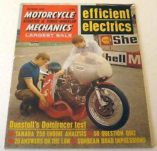 MCM – S&T-W Oct 1969 – Yamaha 250, Sunbeam S8, Dunstall Domiracer, Griffon 250…