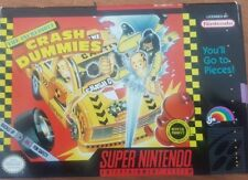 The Incredible Crash Dummies  SNES complete in box