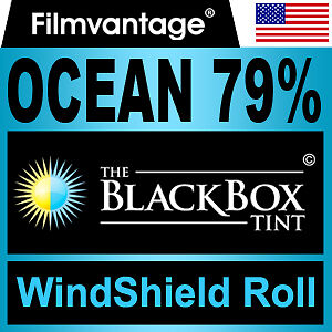 "WINDSHIELD TINT ROLL 79% VLT 36""x70"" FOR BMW"