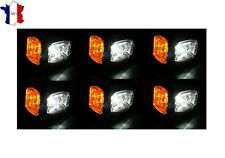 6X 12V 24V LED FEUX DE GABARIT LATERAUX ROUGE ORANGE BLANC POUR IVECO MAN SCANIA