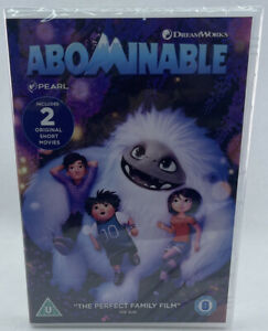 Abominable - New & Sealed Kids/Childrens/Family Movie/Film DVD - C4