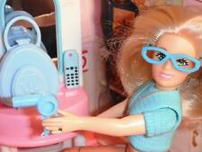 Barbie Doll Fancy Purse & Accesories Hairdryer Lot fits Loving Family Dollhouse