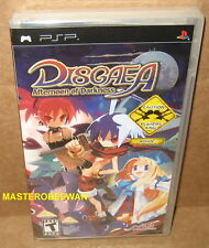 Disgaea: Afternoon of Darkness (Sony PSP, 2007) PlayStation New Sealed