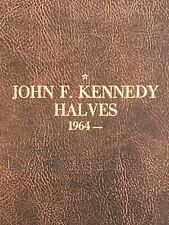 11-Kennedy Half Dollar Coins , In Vintage coin folder.. Nice Starter Set....
