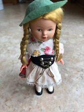 "Antique 1950""s German Key Wind-up Dancing Doll"