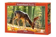 Castorland B-52325 Puzzle King of the Forest Hirsch Natur Wald Herbst 500 Teile