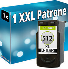 XL TINTE PATRONEN REFILL für CANON PG-512 PIXMA MX340 MX350 MX410 MX360 MX420