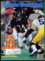 SPORTS ILLUSTRATED DECEMBER 8 1986 WALTER PAYTON