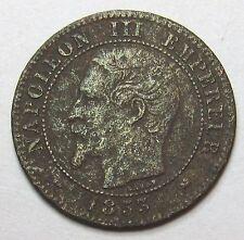 NAPOLEON III - 2 Centimes - 1853 Grand D