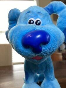 Blue's Clues & You Dance Along Blue Interactive Plush! Sings Dances Blue Puppy