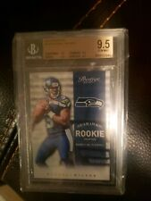 2012 Russell Wilson Prestige Rookie Rc Graded Bgs Gem Mint 9.5! Mvp?