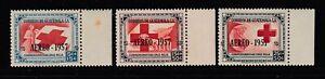 Guatemala #CB8-10 SemiPostal Airmail RED CROSS (Mint Never Hinged) cv$21.00