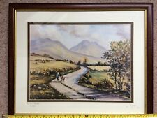 SIGNED IRISH ARTIST ART R.W. YOUNG IN THE MORNES CO DOWN IRELAND 22 INCHES WOW