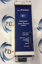 ITD AUTOMATION  26.50.39  SERVO AMPLIFIER & POWER SUPPLY  60 DAY WARRANTY!
