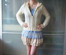 LIZ LISA knitted cream cardigan hoodie ~ LOLITA ~ JAPAN ~ JAPANESE