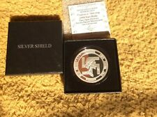 Silver shield 2oz Nazi bride proof in Capsule, official display box and COA