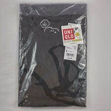 Uniqlo KAWS x Peanuts TEE Graphic T-Shirt Gray Snoopy Size S Small NWT XX Eyes