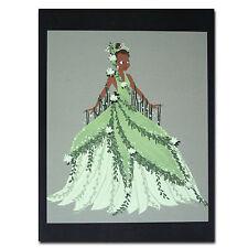 Princess and the Frog Disney Film Genuine Postcard Tiana Dress